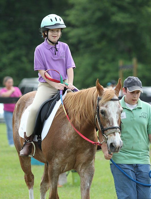 "MTRA follows an ""adaptive equestrian experience"" model which enables us to provide a full range of equine-assisted programs"