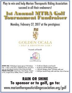 2017 Golf Tournament Flyer